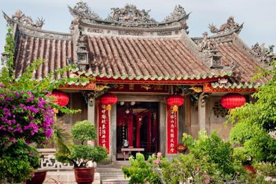 Hoi An Temple, Danang, Vietnam.
